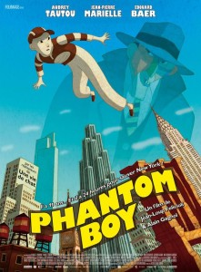 "Affiche du film ""Phantom Boy"""