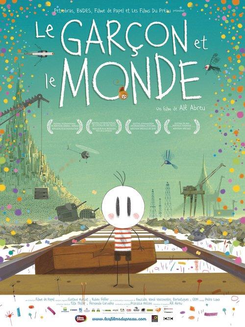 """Affiche du film """"Le Garçon et le Monde"""""""