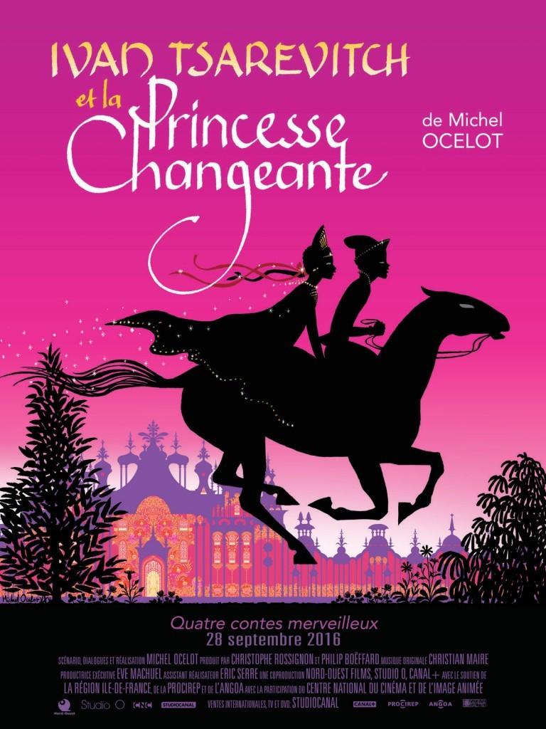 """Affiche du film """"Ivan Tsarévitch et la Princesse Changeante"""""""