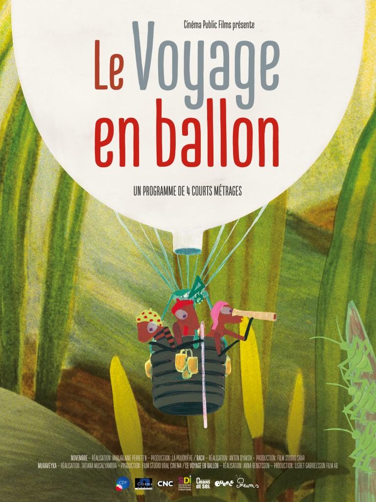 """Affiche du film """"Le voyage en ballon"""""""