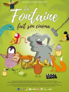 """Affiche du film """"La Fontaine fait son Cinéma"""""""