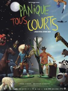 """Affiche du film """"PANIQUE TOUS COURTS"""""""