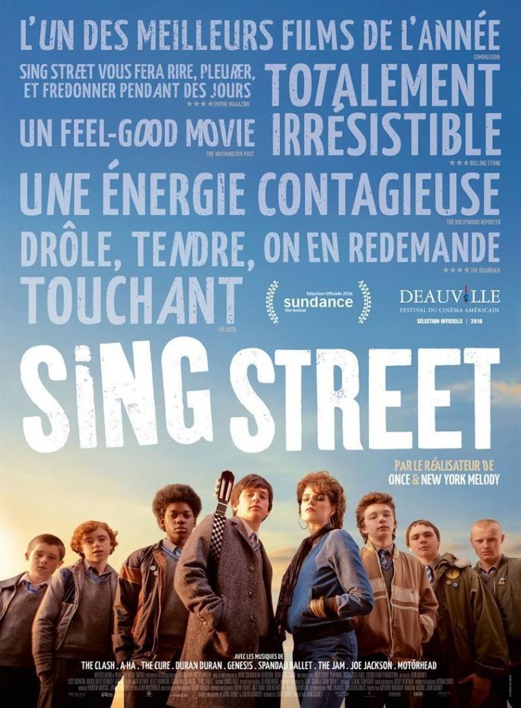 """Affiche du film """"Sing Street"""""""