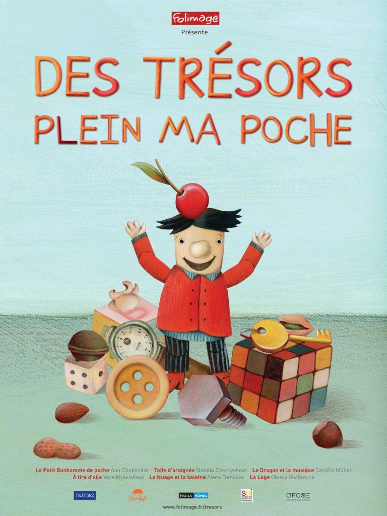 """Affiche du film """"Des trésors plein ma poche"""""""