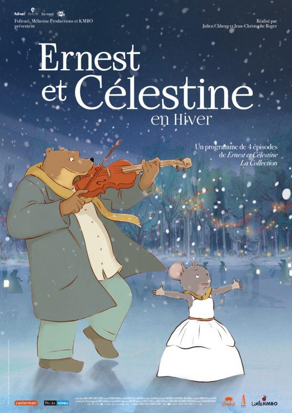 """Affiche du film """"Ernest et Célestine"""""""