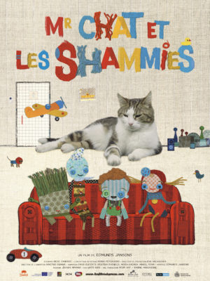 "Affiche du film ""Mr Chat et les Shammies"""