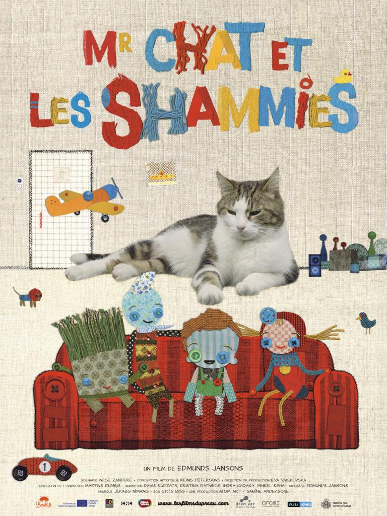 """Affiche du film """"Mr Chat et les Shammies"""""""