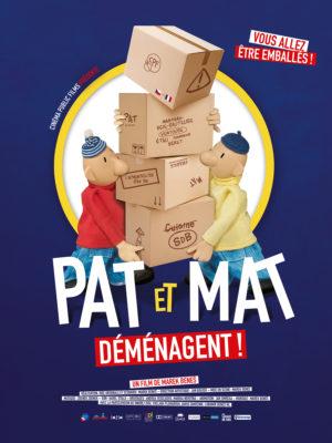 """Affiche du film """"Pat et Mat demenagent"""""""
