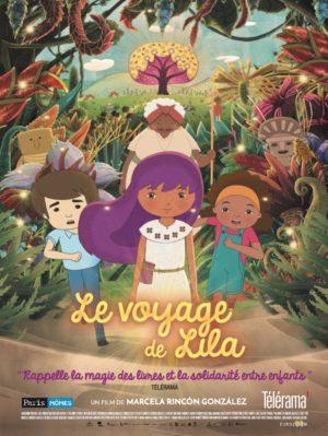 """Affiche du film """"le voyage de lila"""""""