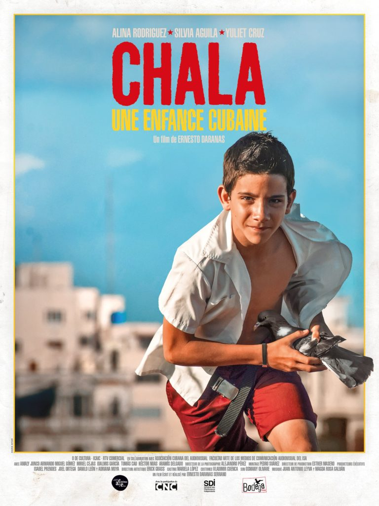 """Affiche du film """"Chala, une enfance cubaine"""""""