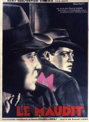 """Affiche du film """"M le maudit"""""""