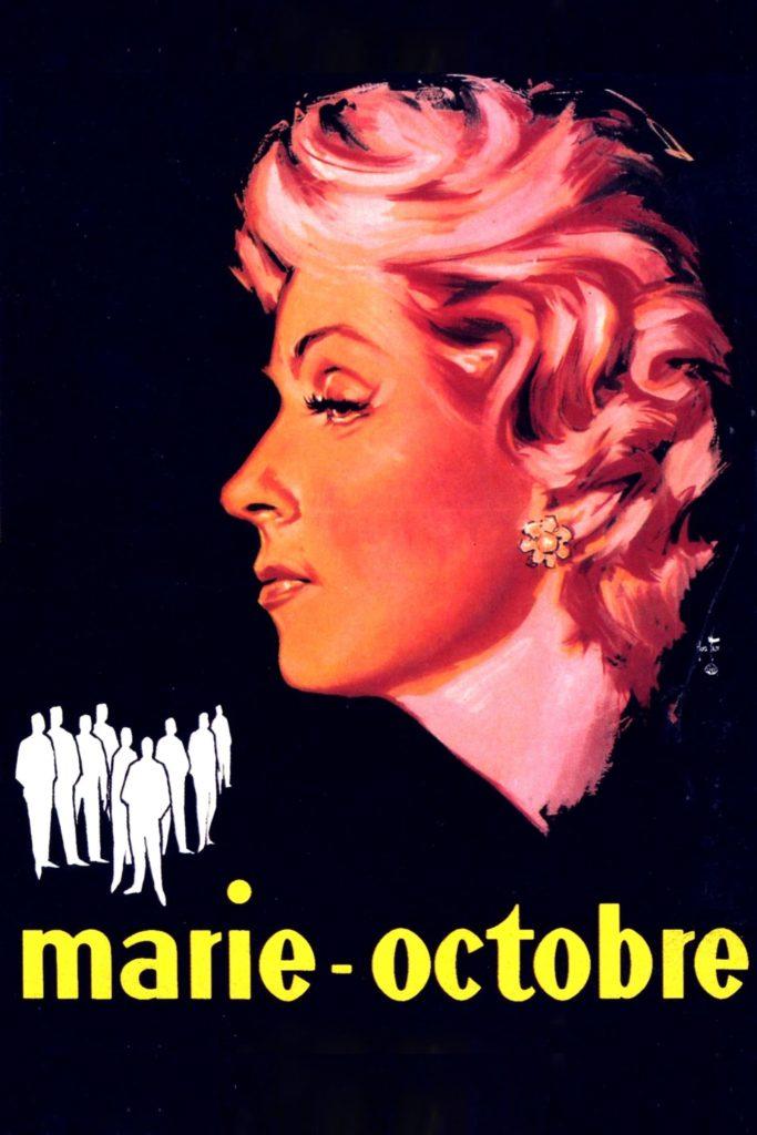 """Affiche du film """"Marie-Octobre"""""""