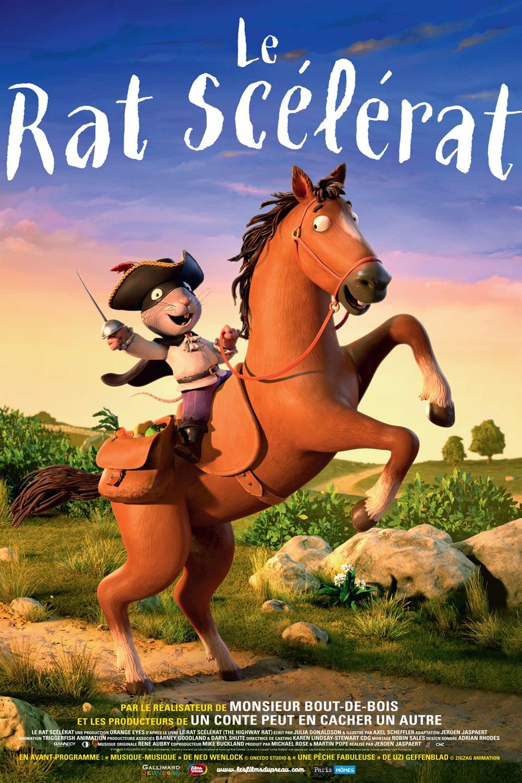 """Affiche du film """"Le rat scélérat"""""""