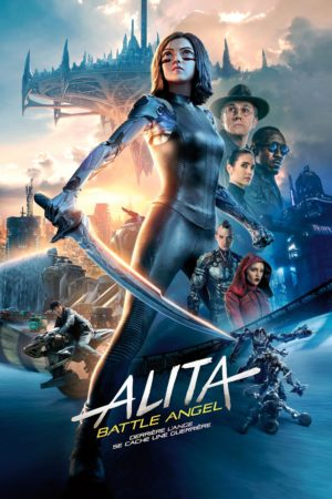 "Affiche du film ""Alita Battle Angel"""