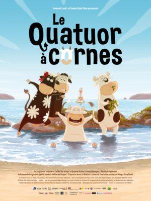 """Affiche du film """"Le quatuor à cornes"""""""