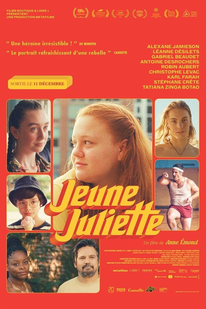 """Affiche du film """"Jeune Juliette"""""""