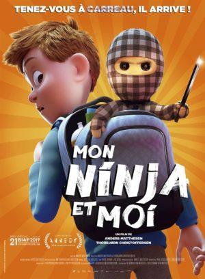 """Affiche du film """"Mon ninja et moi"""""""