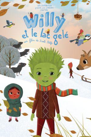 """Affiche du film """"Willy et le lac gelé"""""""