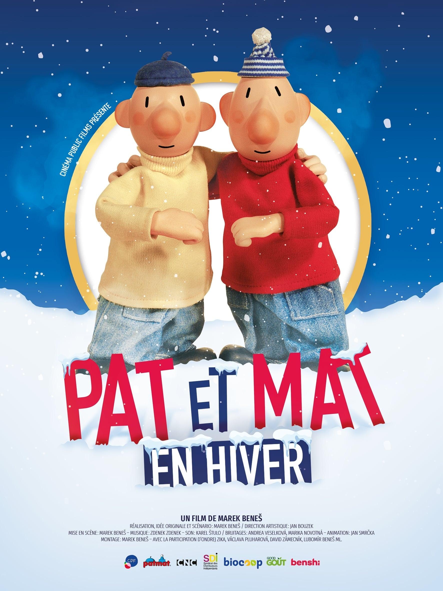 """Affiche du film """"Pat et Mat en Hiver"""""""