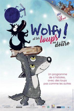 """Affiche du film """"Wolfy ! Et les loups en délire"""""""